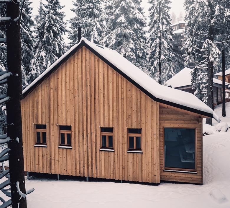 Waldbauernhäuser