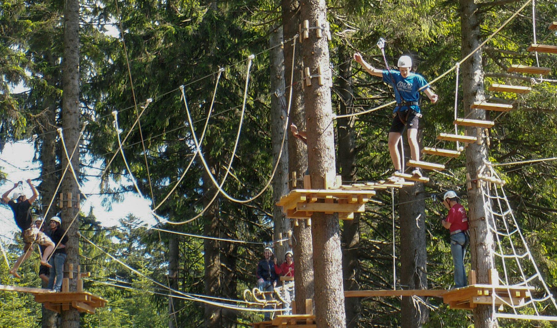 Öffnungszeiten Naturhochseilpark 2020