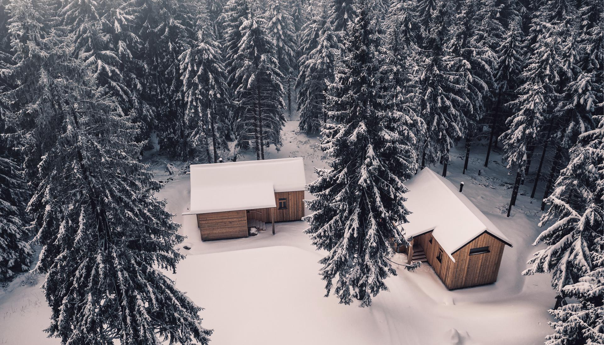 Winterurlaub Hütte - Ramenai